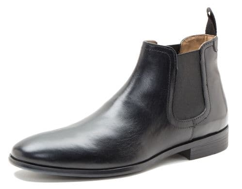 Red Tape Beeston Black Boots